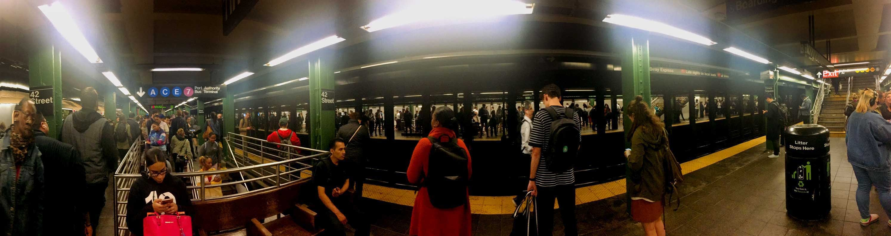 Panorama Subway New York